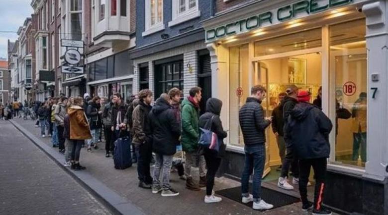 Опашки за марихуана в Нидерландия по време на пандемията