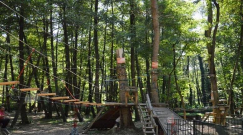 Въженият парк в Благоевград отваря от днес