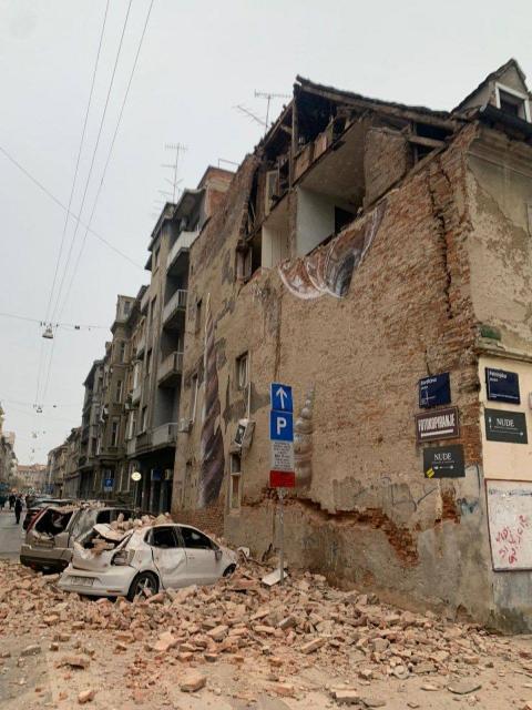 5,3 по Рихтер удари Загреб – има разрушения