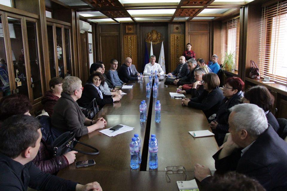 Спешно заседание на Кризисния щаб в Банско