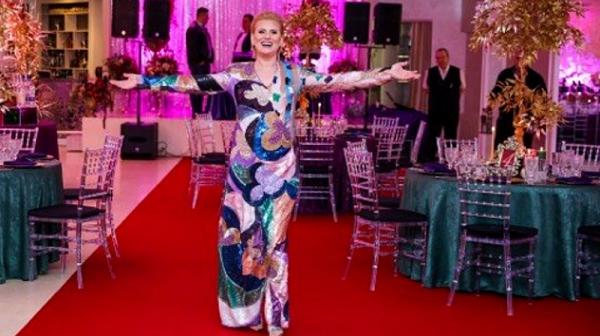 Рожден ден на Дафина Зортева в Гоце Делчев като модно събитие в Милано