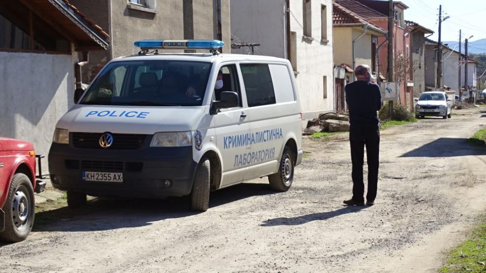 Убийство на възрастен мъж в Кюстендилско село