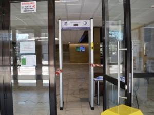 B Община Благоевград монтираха детекторна рамка за температура