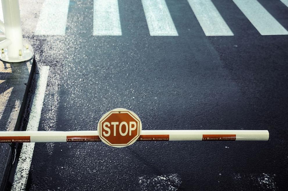 Пътят между Петрич и Сандански е затворен