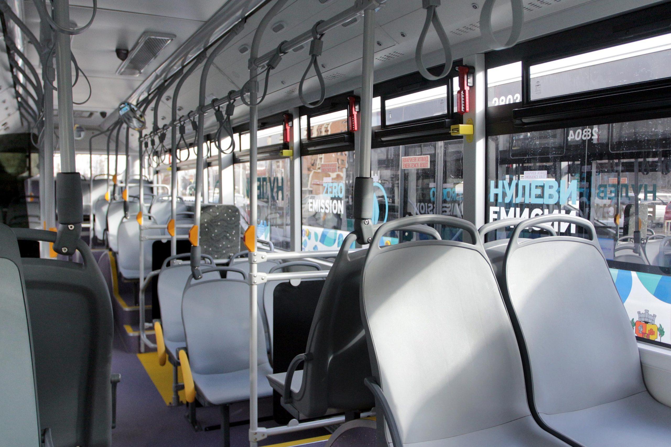 Без климатици в градския транспорт в София