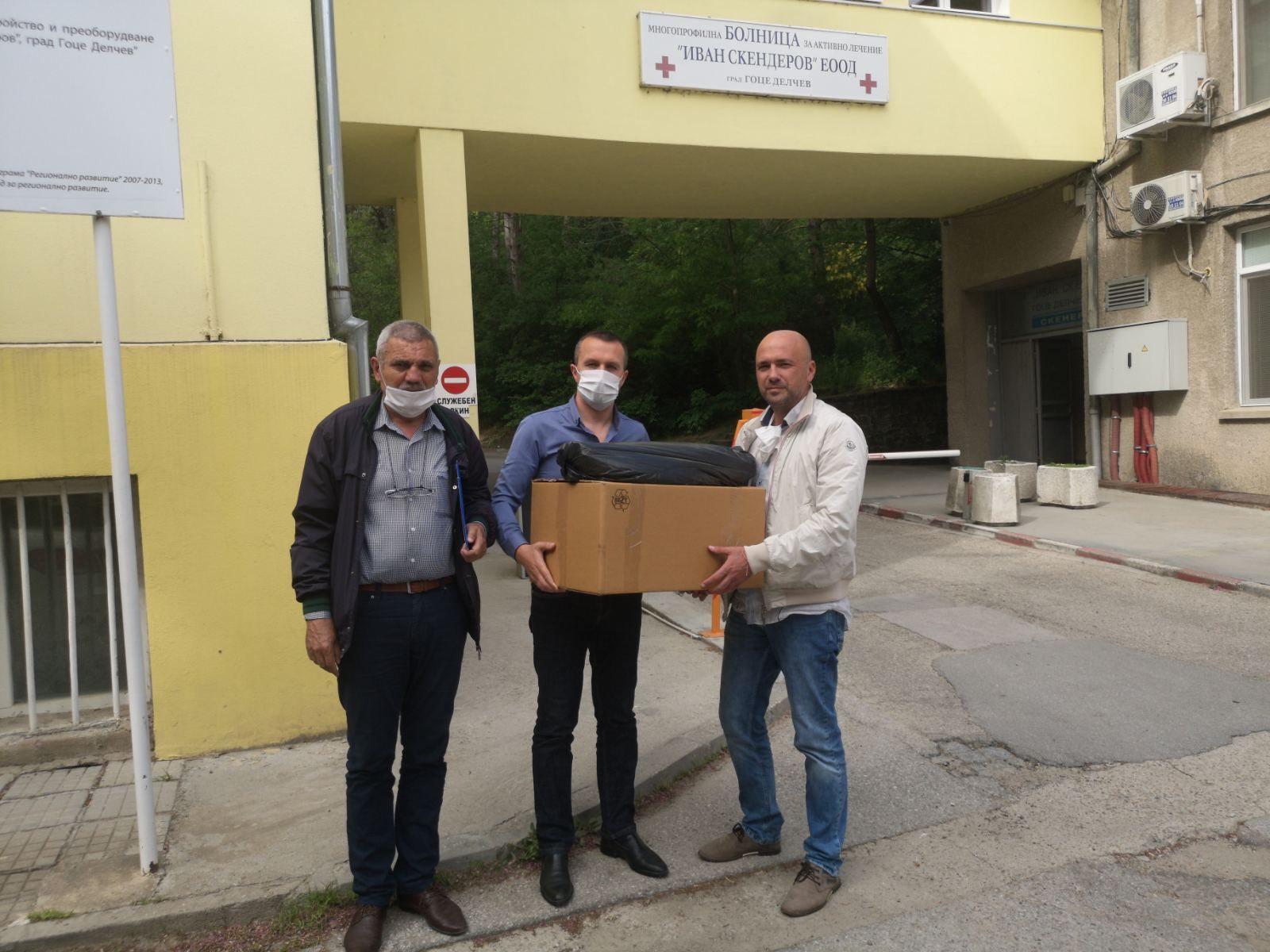 Ново дарение от депутата Делян Пеевски на болницата в Гоце Делчев