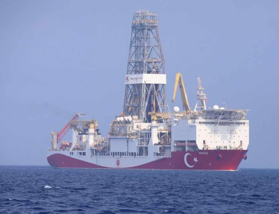 Турция с геоложки проучвания в Средиземно море