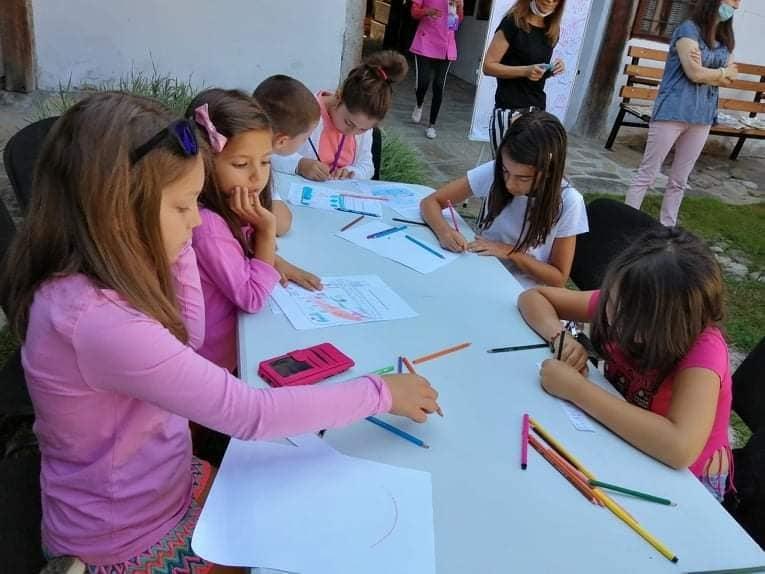 Продължават летните занимания за деца в музея в Разлог