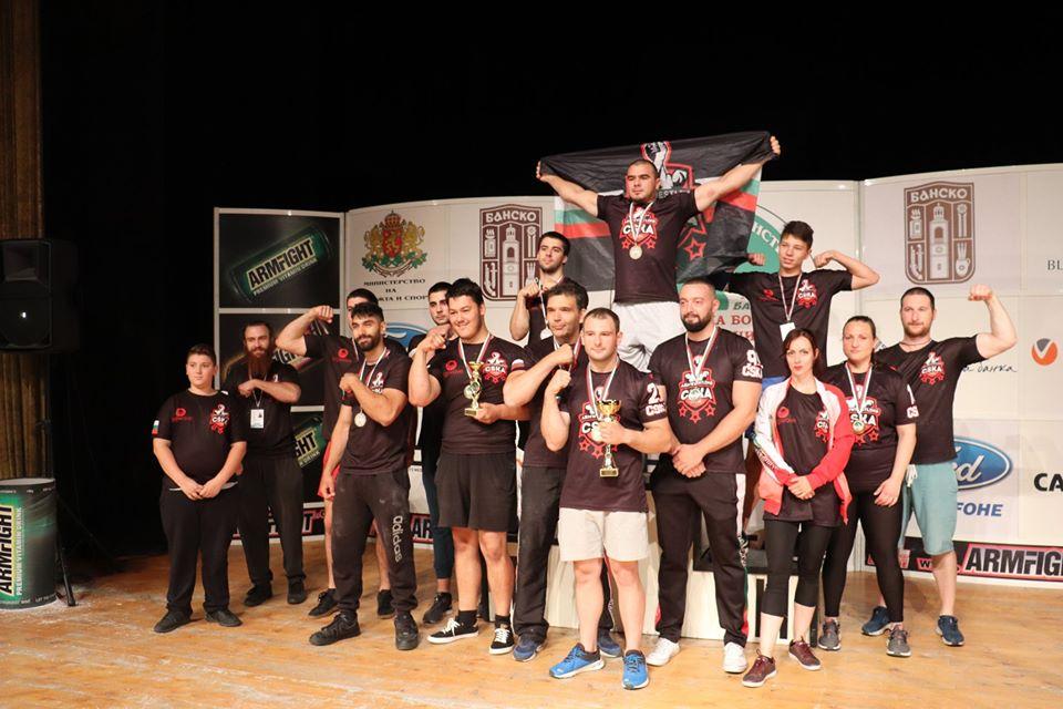 Най-добрите състезатели по канадска борба на България премериха сили в Банско