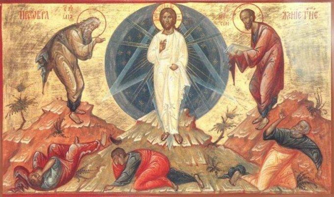 На 6 август Българската православна църква отбелязва празника Преображение Господне