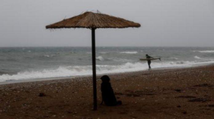 Дъждове и ветрове в Гърция