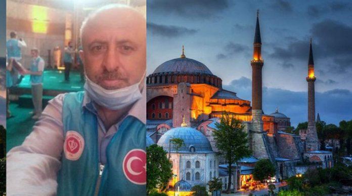 """Инфаркт е убил внезапно мюезина на светия за християните истанбулски храм """"Света София"""""""