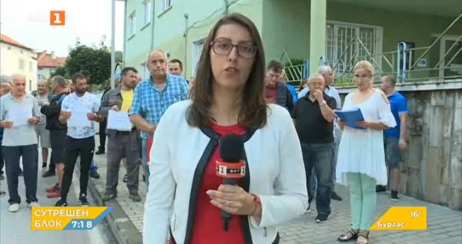 B Гоце Делчев днес на протест излязоха дървопреработвателните фирми в района