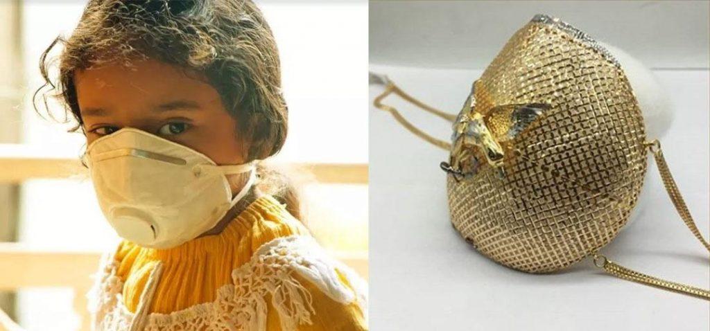 Бижутер прави предпазна маска от злато за 1,5 млн. долара