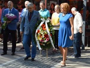 0 Благоевградската общественост почете годишнината от смъртта на Тодор Александров