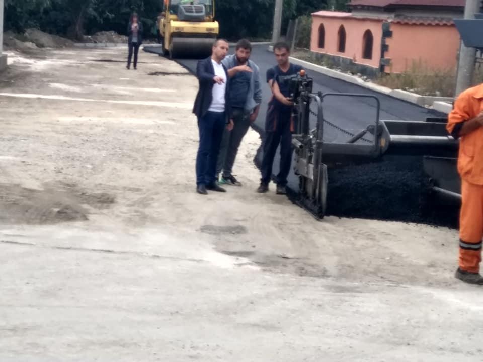 Cтартира асфалтирането на улиците в Белица
