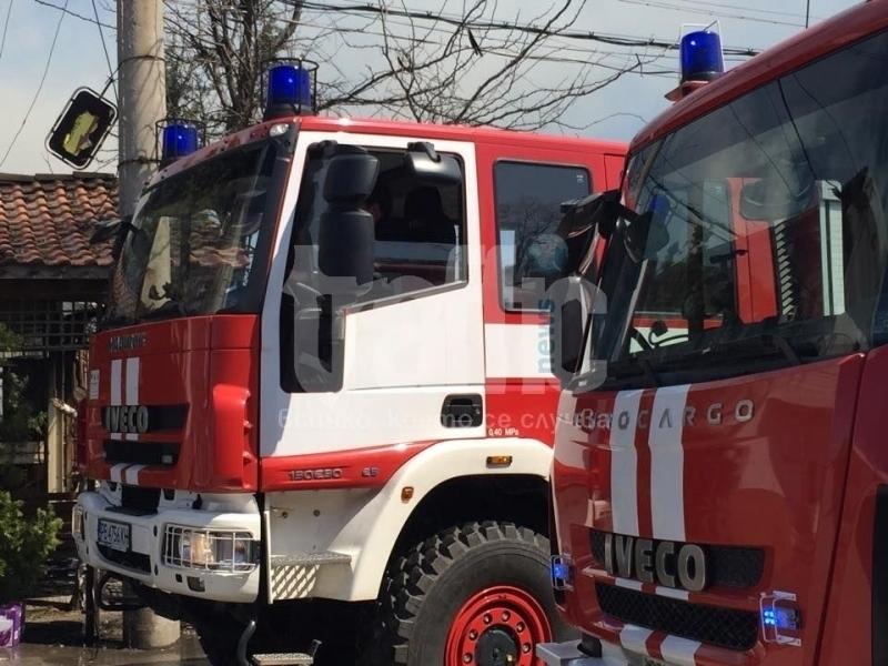 Пожар изпепели къщите на пет семействав ромската махала на Разлог