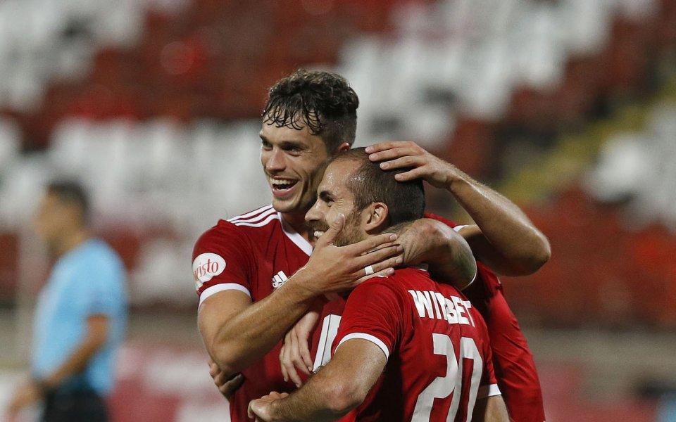 Отборът на ЦСКА-София се класира за третия предварителен кръг на Лига Европа