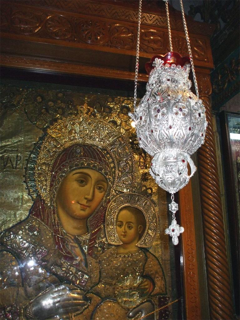 Копие на Чудотворна икона от Витлеем посрещат в Гоце Делчев