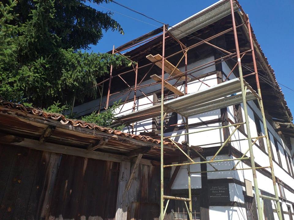 Община Разлог извърши цялостен ремонт на покрива на Кипрева къща