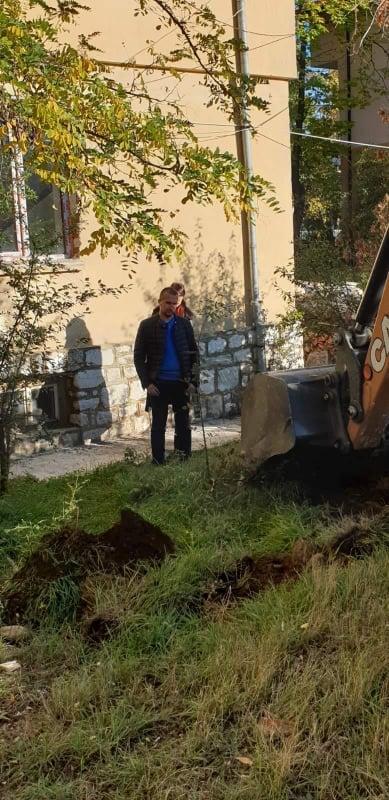 Първа копка в Белица за изграждане на асансьорната уредба и ремонт на сградата за социални услуги