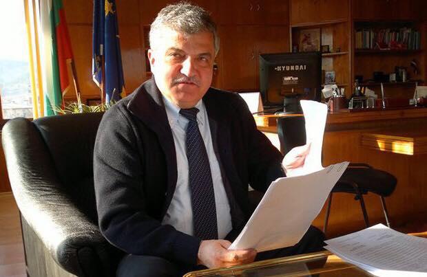 Кметът на община Гоце Делчев Владимир Москов с поздравителен адрес по повод празника на град Гоце Делчев
