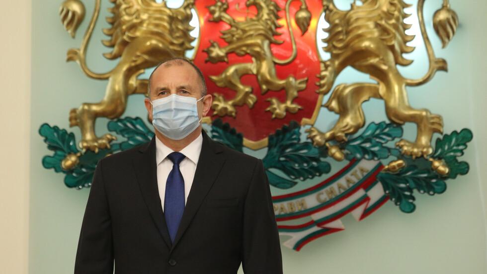 Румен Радев се самоизолира, главният му секретар е с COVID-19