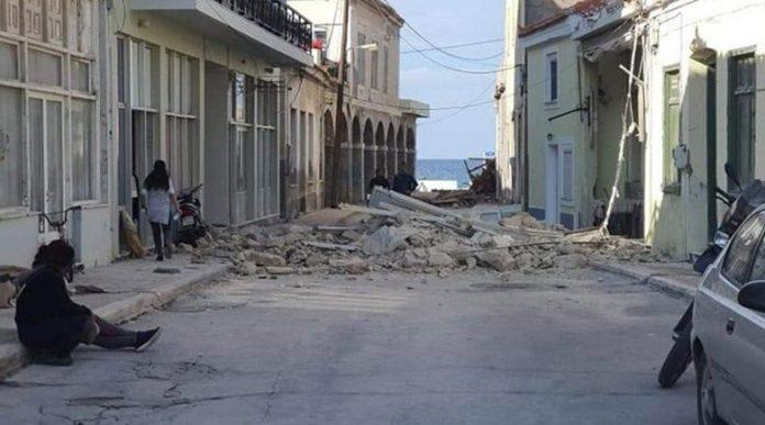 Деца загинаха на остров Самос по време на земетресението