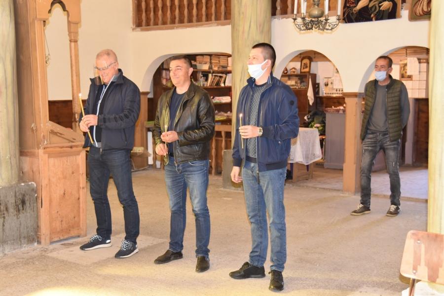 Почетоха Димитровден в Брежани