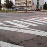 """Приключи полагането на основна хоризонтална маркировка на ул. """"Синаница"""""""