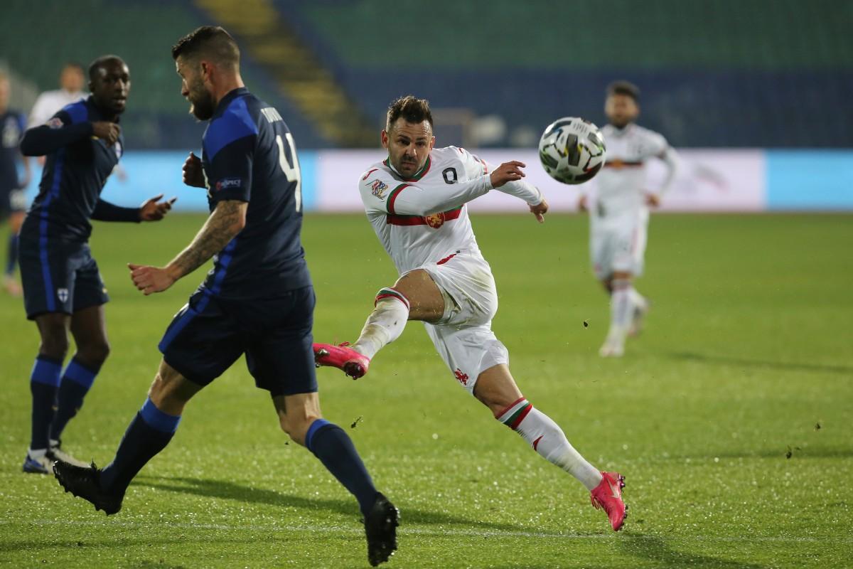 Националите по футбол загубиха от Финландия с 1:2