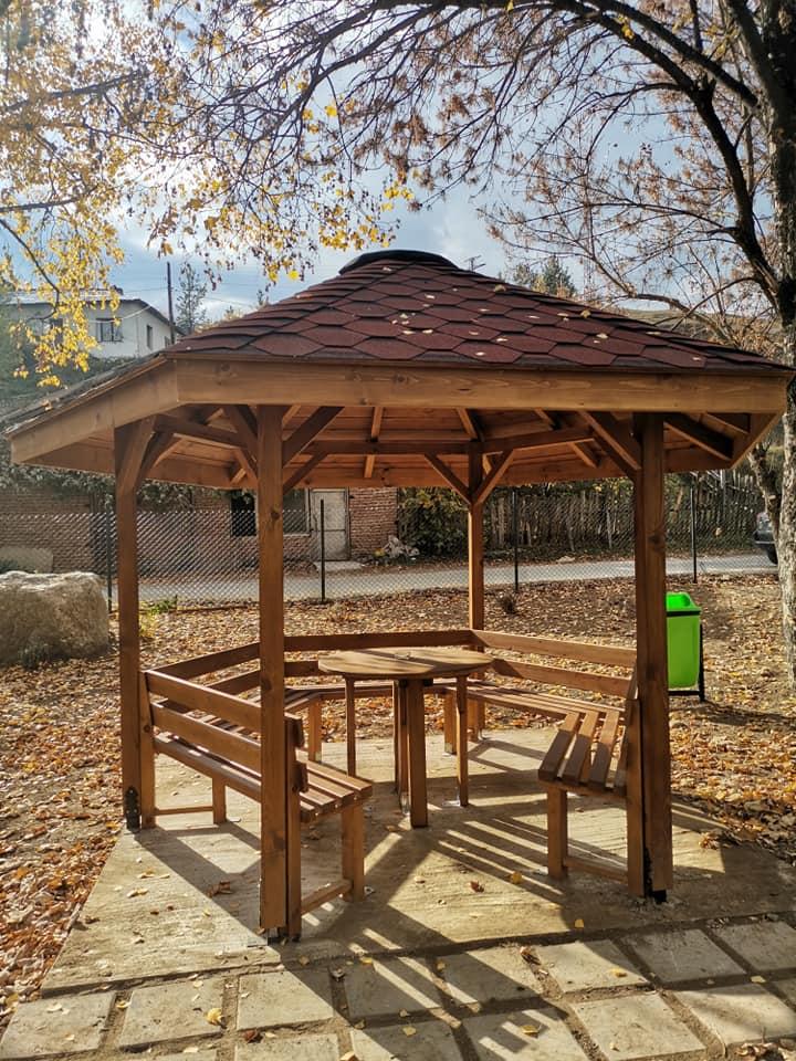 Възстановиха парково пространство в село Бачево