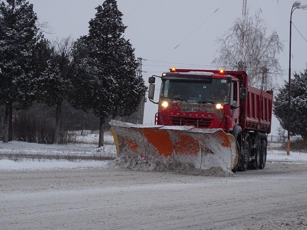 Общинската пътна мрежа в Сандански е нормално проходима