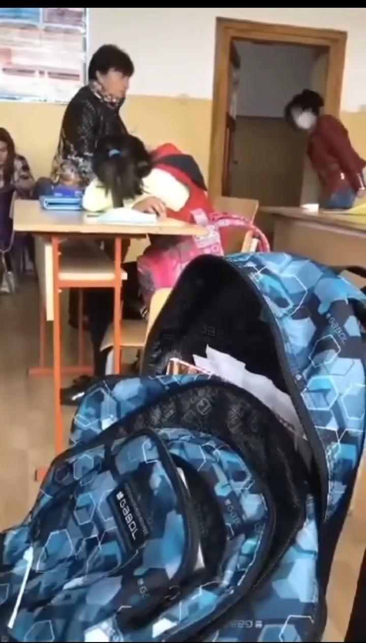 Учителката, която бе заснета да крещи и скубе ученичка, остава на работа