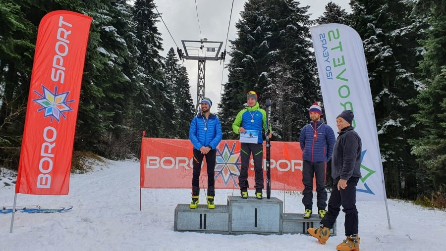 """Клубът по ски алпинизъм """"АлПиринСки"""" стана лидер в класирането на първото за сезона държавно първенство по ски-алпинизъм"""