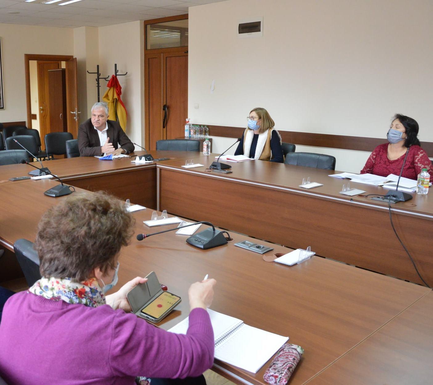 Публично обсъждане на проектобюджета за 2021 година на община Гоце Делчев се проведе днес