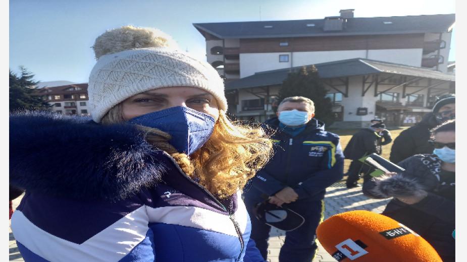 Мариана Николова проверява противоепидемичните мерки в Банско