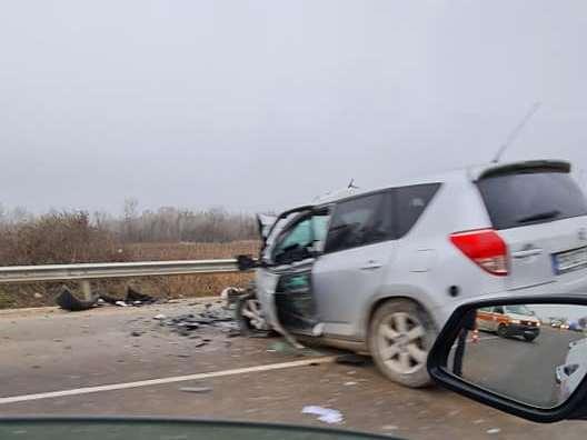 Тежка катастрофа на пътя Пловдив Пазарджик
