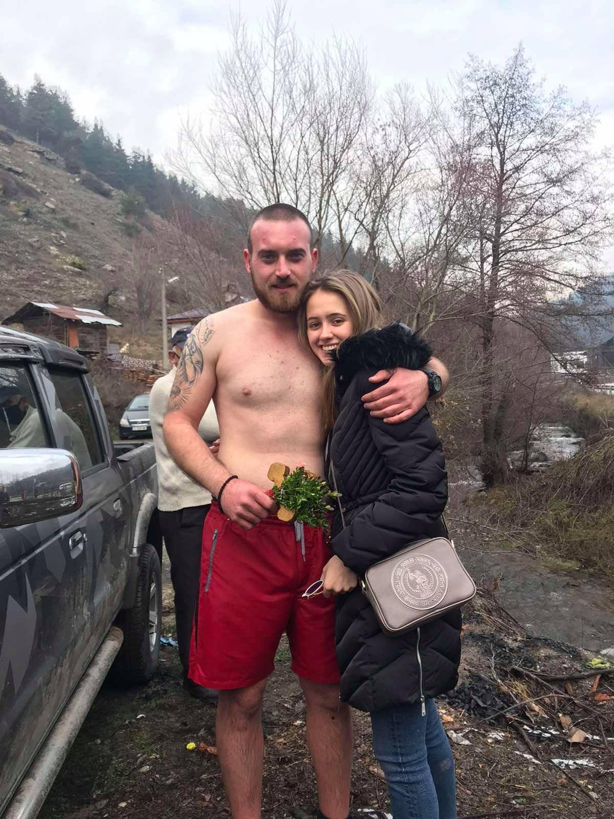 B Белица , Богоявленския кръст бе намерен от Марио Чонков