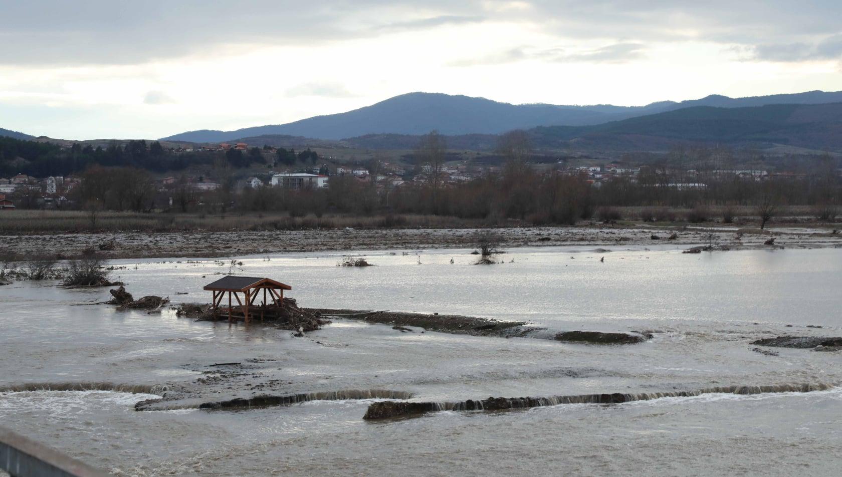 Започна възстановяването на моста между Блатска и Хаджидимово