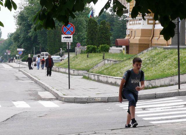 Пътната полиция започва акция срещу пешеходците