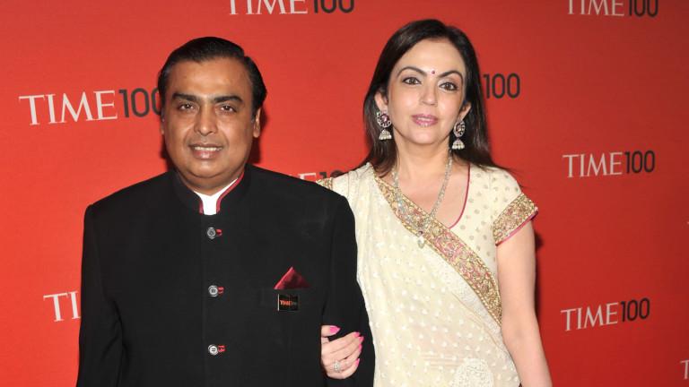 Мукеш Амбани е най-богатият човек в Индия от 12 години насам