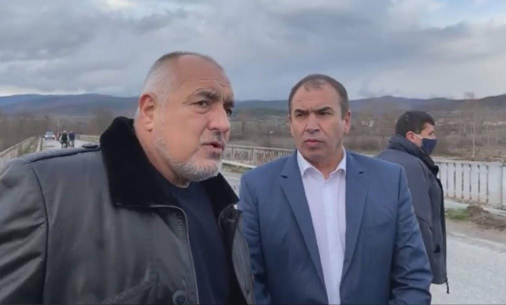 Премиерът Бойко Борисов  посети  град Хаджидимово и гърменското село Рибново