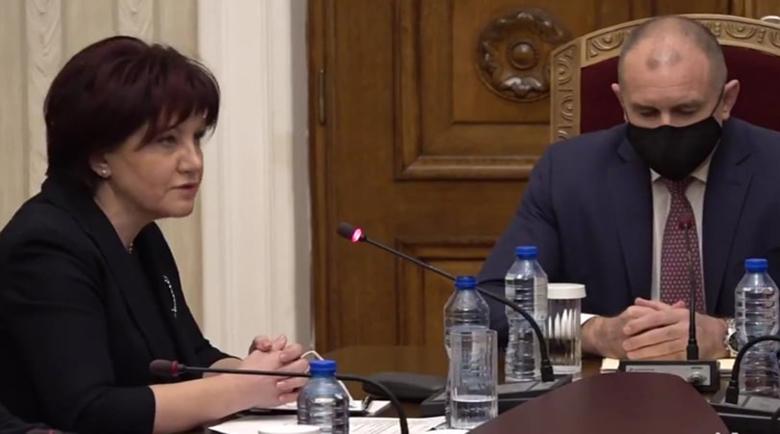 Цвета Караянчева при президента: Изборите не са на ГЕРБ