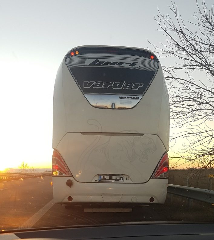 Турски автобус катастрофира тази сутрин на пътя Русе – Бяла
