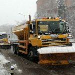 В Благоевград изкарват машините за снегопочистване