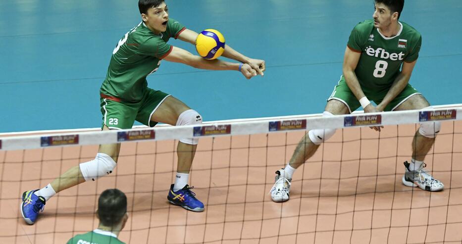Волейболните национали на България постигнаха втора поредна победа по пътя към европейското