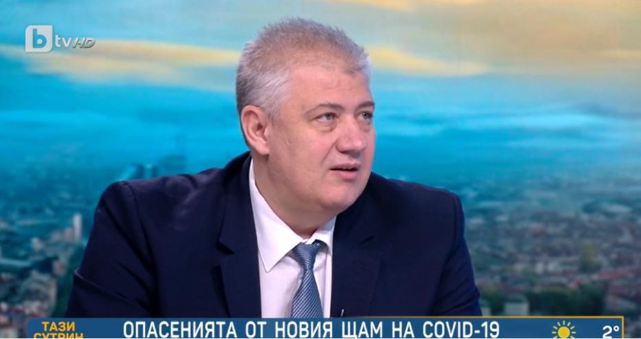 Проф. Балтов: Новият щам на ковид е по-агресивен и повече хора ще бъдат заразени с него