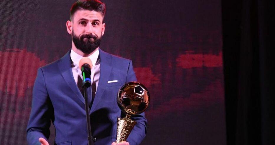 """Димитър Илиев за втори пореден път е """"Футболист на годината"""""""