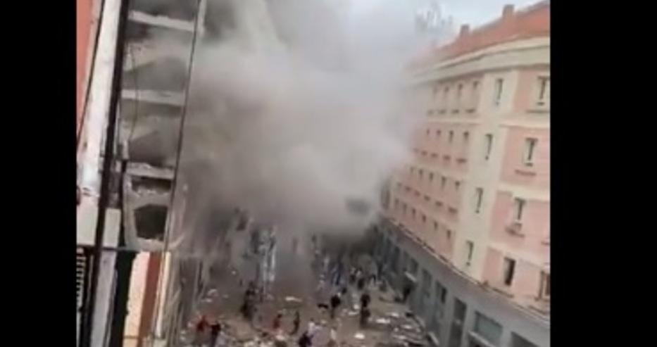 Мощен взрив в центъра на столицата на Испания Мадрид